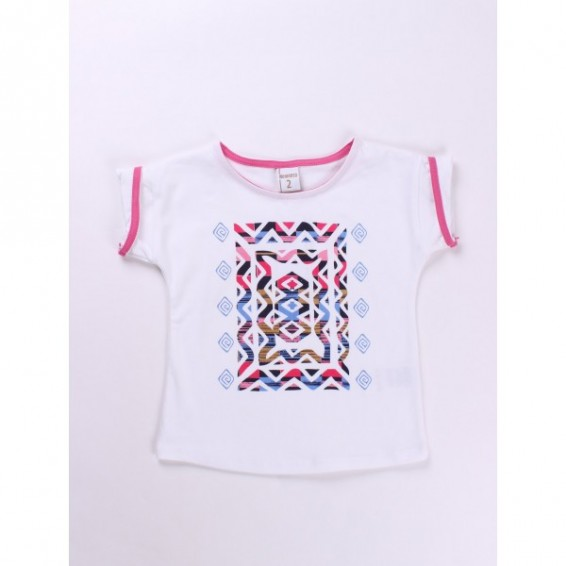 Camiseta-manga-corta-blanca-rosa-ch11018-1