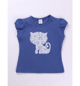 Camiseta-manga-corta-gato-color-azulon-ch11012-1