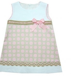 Vestido-niña-verano-rosa-blanco-camel-ch10015-1