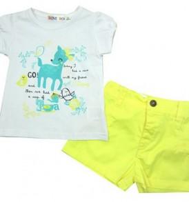 Conjunto-niña-verano-blanco-amarillo-ch13013-1
